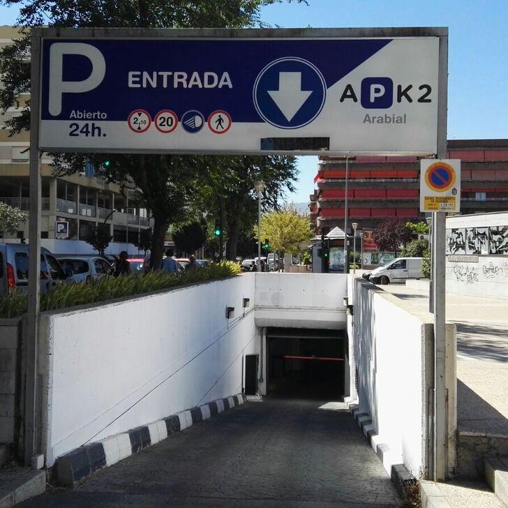 Parking Público APK2 ARABIAL (Cubierto) Granada