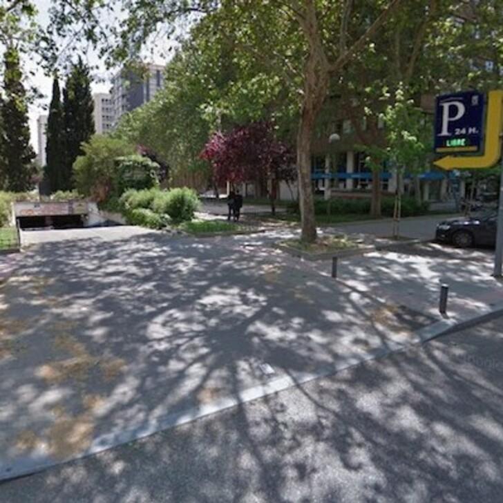 Öffentliches Parkhaus APK2 AVENIDA DE BRASIL (Überdacht) Madrid