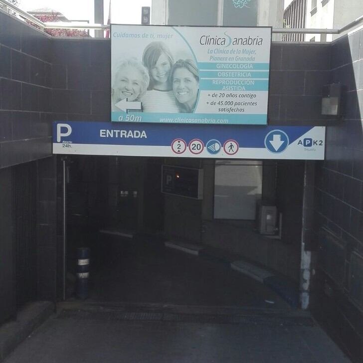 Parking Público APK2 TRIUNFO (Cubierto) Granada