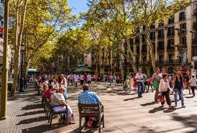 Parkeerplaatsen Ramblas de Barcelona in Barcelona - Boek tegen de beste prijs
