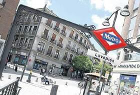 Parques de estacionamento Bairro Lavapiés em Madrid - Reserve ao melhor preço