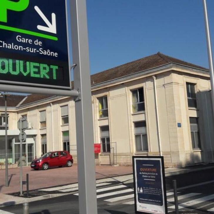 Parking Oficial EFFIA GARE DE CHALON-SUR-SAÔNE (Exterior) CHALON SUR SAONE