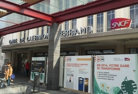 Clermont-Ferrand Railway Station car parks in Clermont-Ferrand - Book at the best price