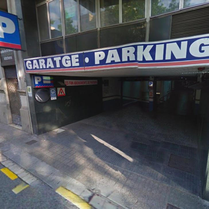 Parking Public GARAGE MADISON (Couvert) Barcelona