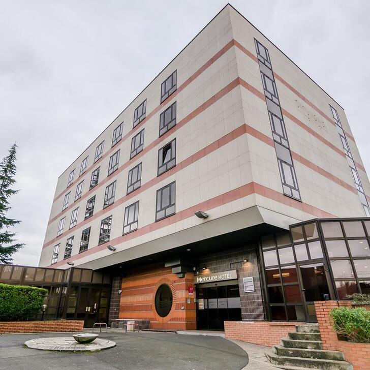 Parking Hôtel MERCURE CERGY-PONTOISE CENTRE (Couvert) Cergy