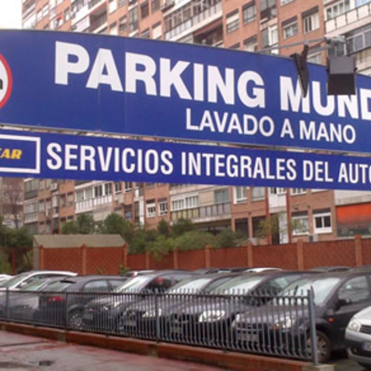 Öffentliches Parkhaus MUNDIAL (Überdacht) Madrid