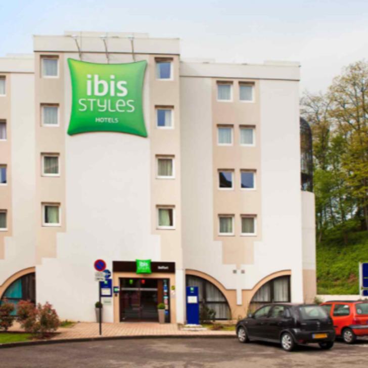 IBIS STYLES BELFORT CENTRE Hotel Parking (Exterieur) Belfort