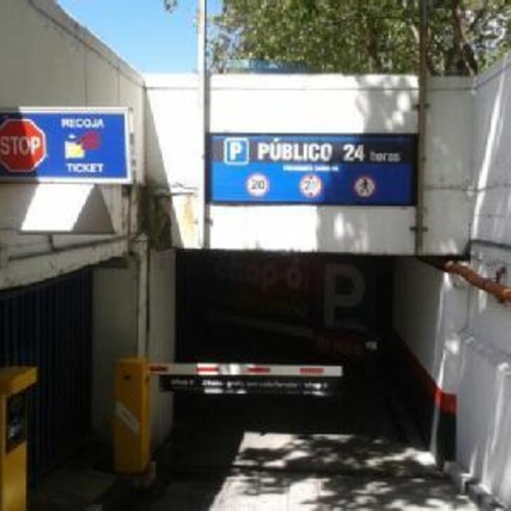 Parking Public CAPORAL PRESIDENTE CARMONA (Couvert) Madrid