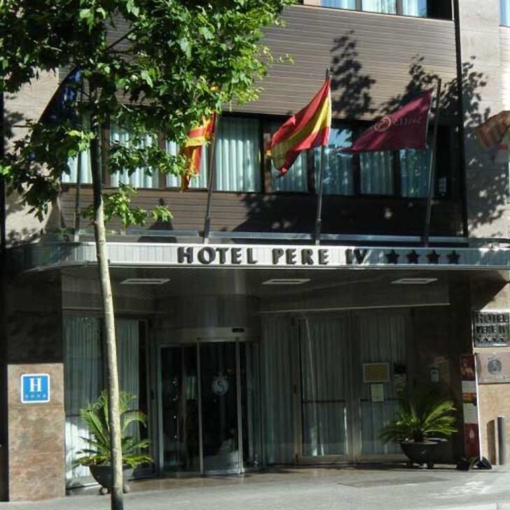 Parking Hotel SALLÉS HOTEL PERE IV (Cubierto) Barcelona