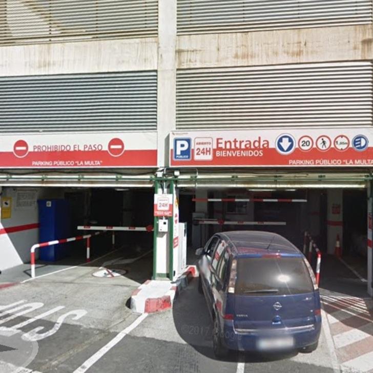 Parking Público PARKIA LA MULTA (Cubierto) Santa Cruz de Tenerife