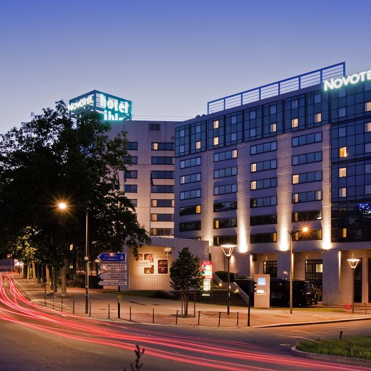 Parking Hôtel NOVOTEL LYON GERLAND MUSÉE DES CONFLUENCES (Couvert) Lyon