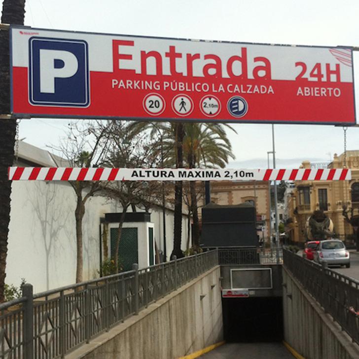 Öffentliches Parkhaus PARKIA LA CALZADA (Überdacht) Sanlúcar de Barrameda