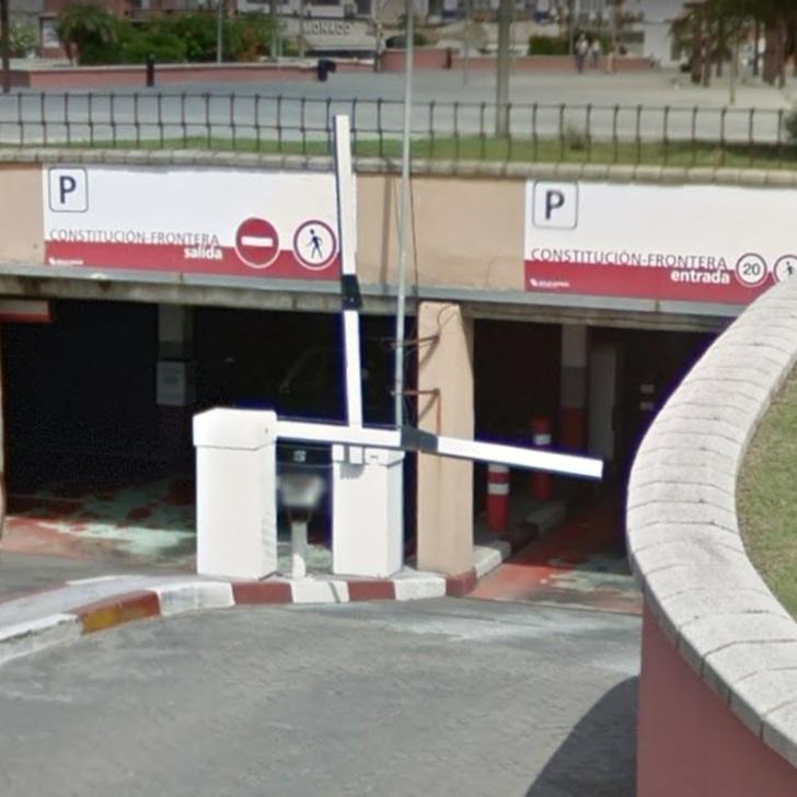 Öffentliches Parkhaus IC CENTRO (Überdacht) La Línea de la Concepción