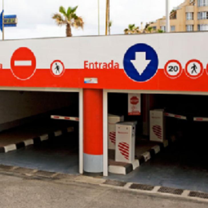 Öffentliches Parkhaus IC SECRETARIO PADILLA (Überdacht) Las Palmas de Gran Canaria