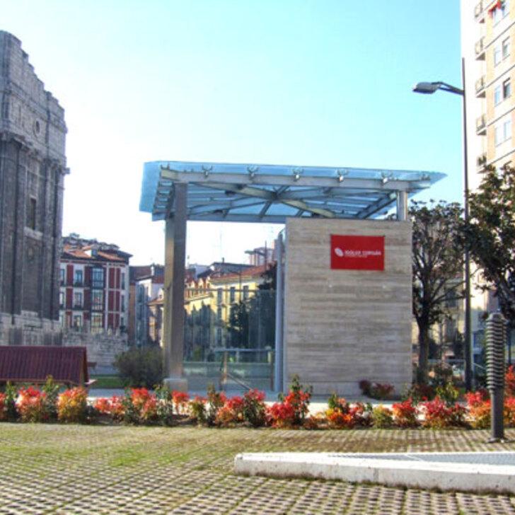 Öffentliches Parkhaus IC PLAZA DE PORTUGALETE (Überdacht) Valladolid