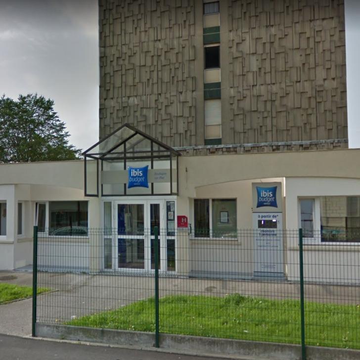 IBIS BUDGET BOULOGNE-SUR-MER CENTRE LES PORTS Hotel Car Park (External) Boulogne-sur-Mer
