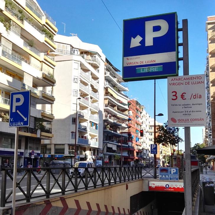 PARKIA VIRGEN DE LUJÁN Public Car Park (Covered) Sevilla
