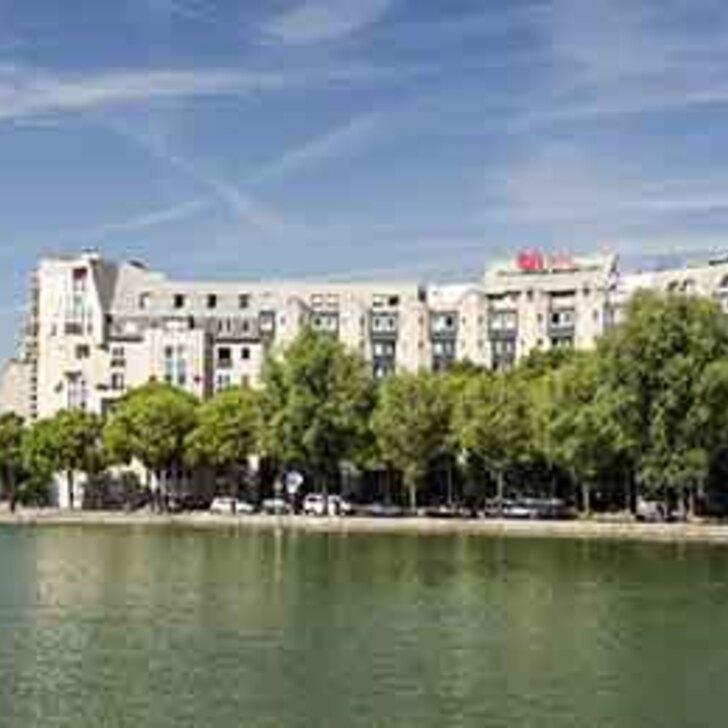 Parking Hotel IBIS PARIS LA VILLETTE CITÉ DES SCIENCES 19ÈME (Cubierto) Paris