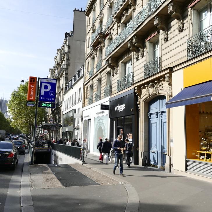 Öffentliches Parkhaus INDIGO LES TERNES (Überdacht) Paris