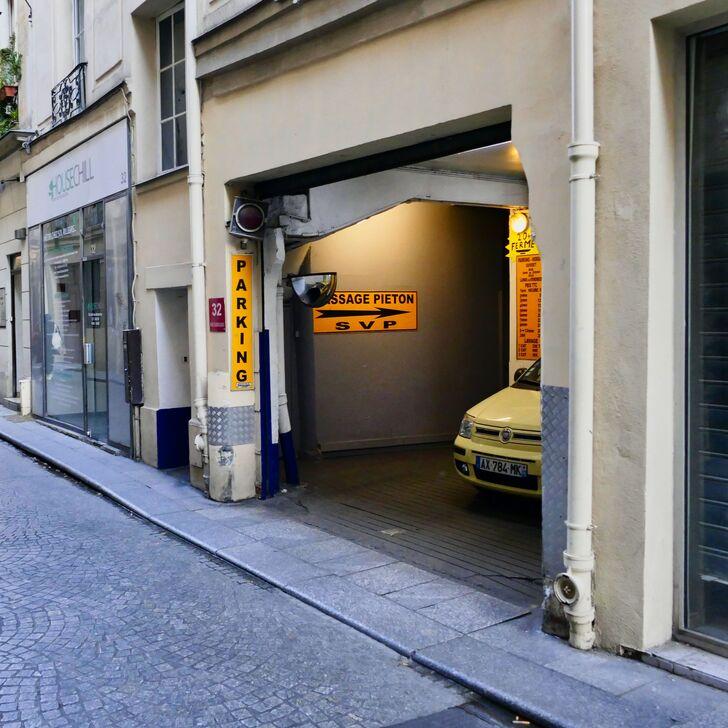 Parking Public GARAGE DES CHAMPEAUX (Couvert) Paris