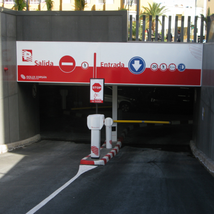 Parking Public IC NUEVOS JUZGADOS (Couvert) Las Palmas de Gran Canaria