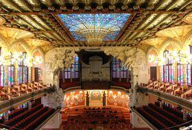 Parkings Palais de la Musique Catalane à Barcelona - Idéal spectacles