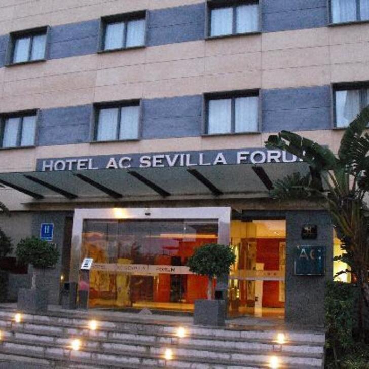 Hotel Parkhaus AC HOTEL BY MARRIOTT SEVILLA FORUM (Überdacht) Sevilla
