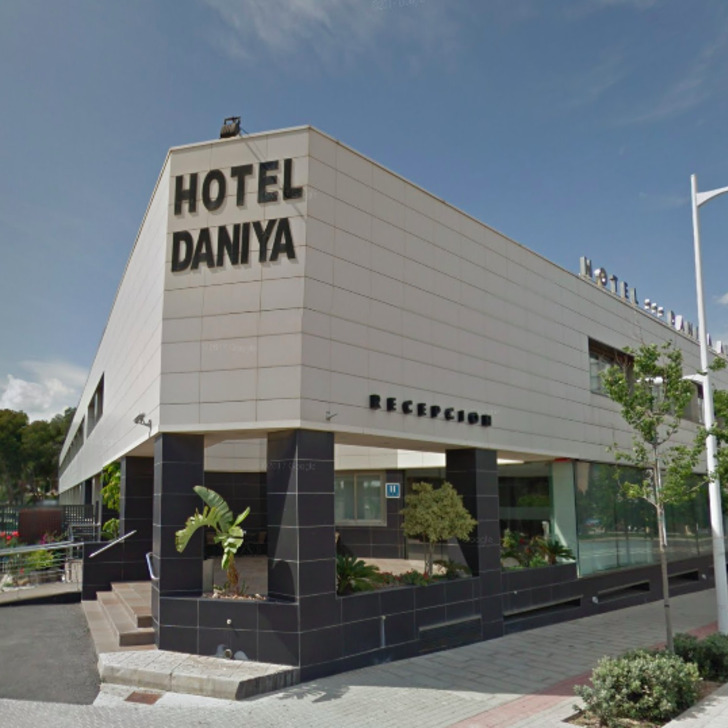 DANIYA ALICANTE Hotel Parking (Exterieur)  Alicante