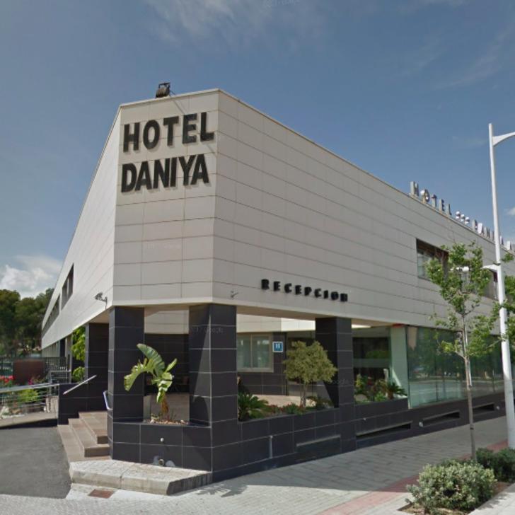 Parking Hôtel DANIYA ALICANTE (Extérieur)  Alicante