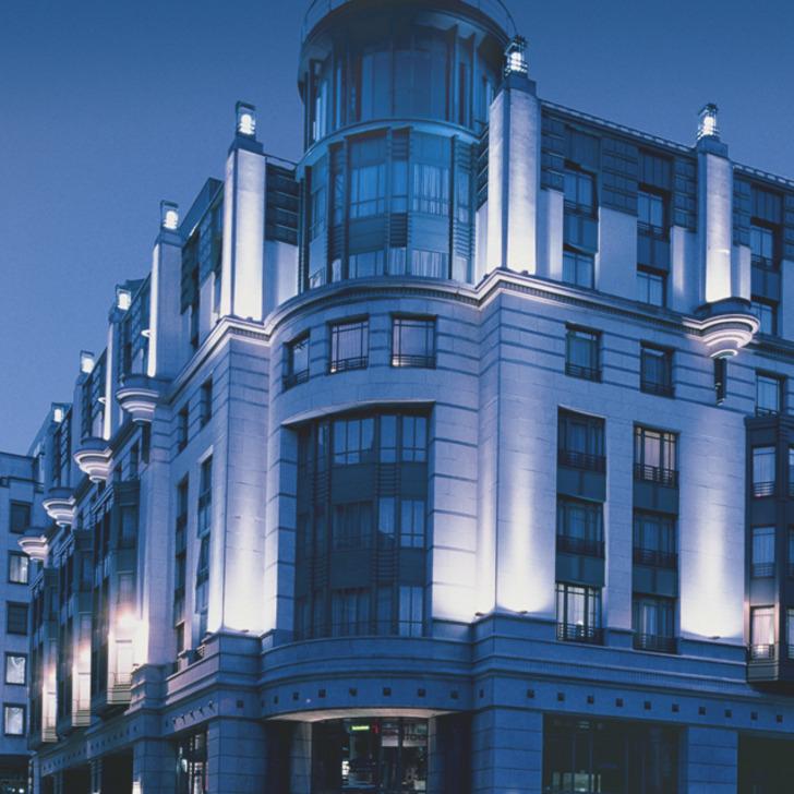 Estacionamento Hotel RADISSON COLLECTION HOTEL GRAND PLACE BRUSSELS (Coberto) Bruxelles