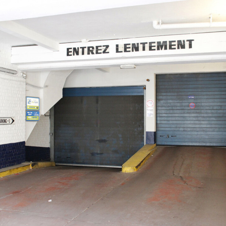 Parking Público BEPARK MONTGOMERY (GAUCHE) (Cubierto) Woluwe Saint-Lambert
