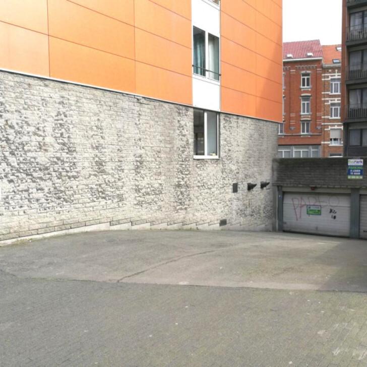 Parking Public BEPARK PLACE DE HELMET - SQUARE APOLLO (Couvert) Schaerbeek
