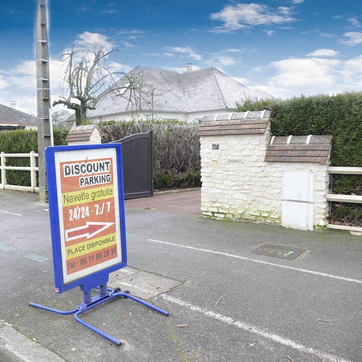 Parking Low Cost DISCOUNT PARKING BEAUVAIS (Cubierto) Beauvais