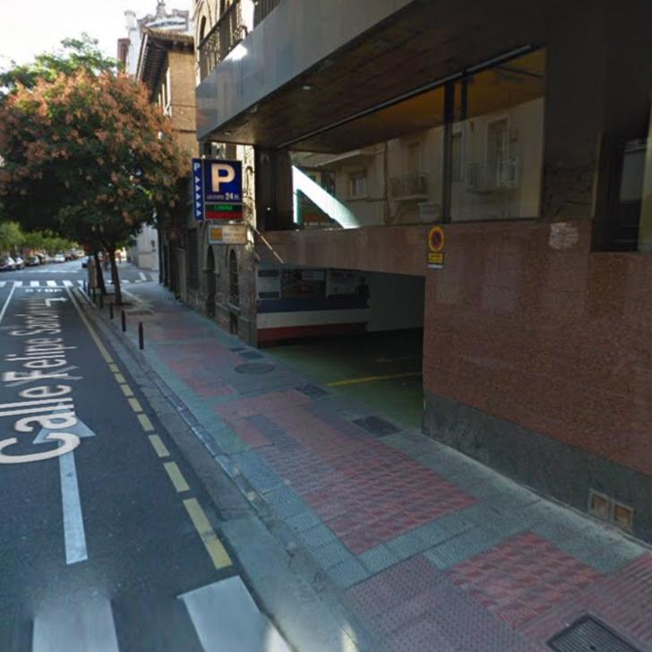 Parking Público SAN CLEMENTE (Cubierto) Zaragoza