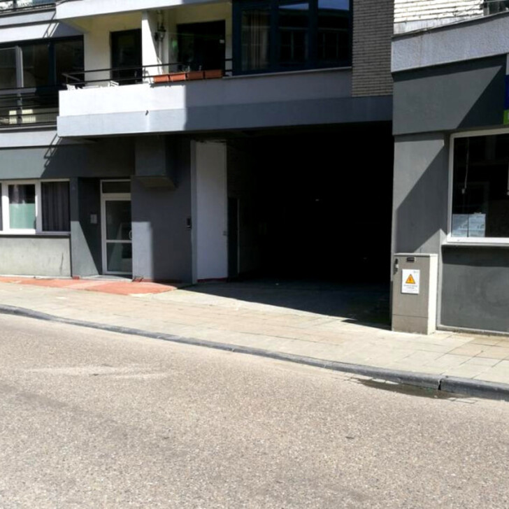 Öffentliches Parkhaus BEPARK FRAGNÉE - QUAI DE ROME (Überdacht) Liège