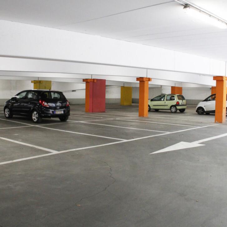 Öffentliches Parkhaus BEPARK GARE BRAINE L'ALLEUD (Überdacht) Braine l'Alleud