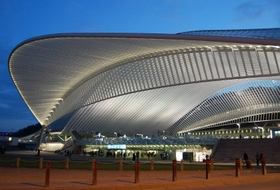 Liège-Guillemins Railway Station car parks in Liège - Book at the best price