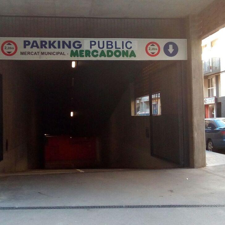 Parking Público MERCAT DE SANT ADRIÀ (Cubierto) Sant Adrià del Besòs, Barcelona