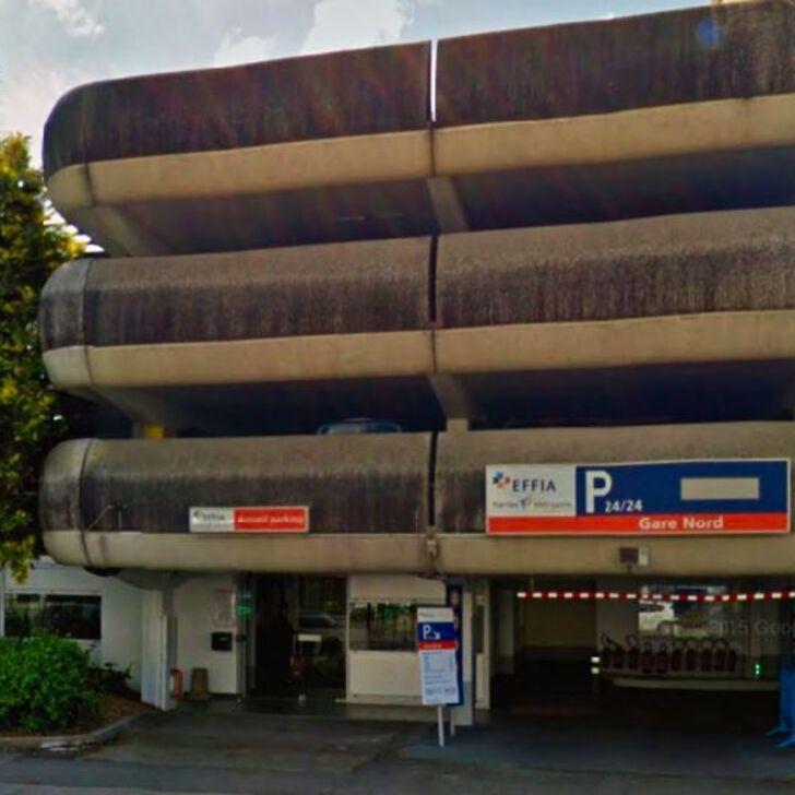 EFFIA GARE DE NANTES Nord - Lange Duur Officiële Parking (Overdekt) NANTES