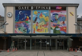 Epinal Station car parks in Épinal - Book at the best price