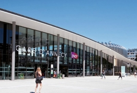 Parques de estacionamento Estação Annecy em Annecy - Reserve ao melhor preço