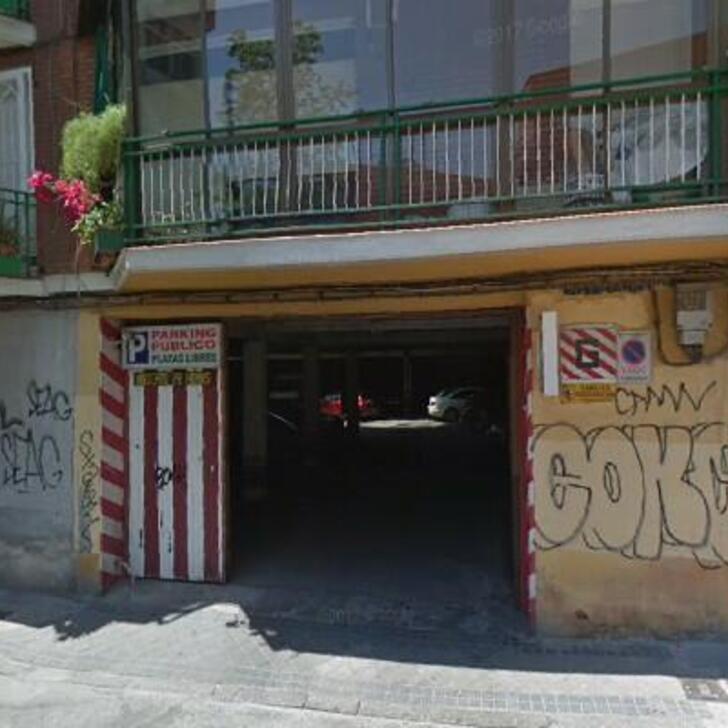 Parking Público LA MADRILEÑA (Cubierto) Madrid