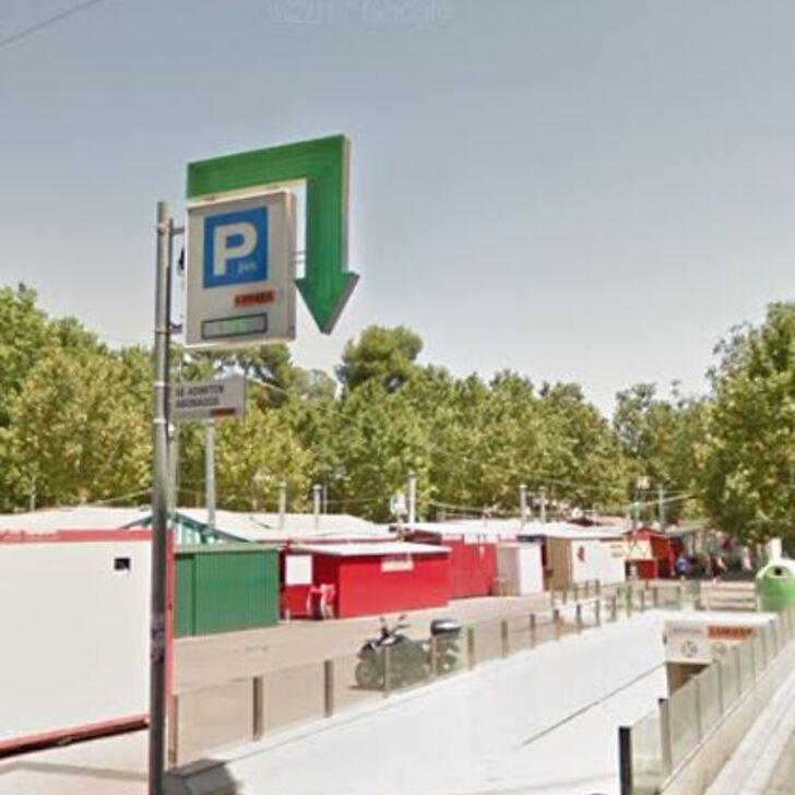 Öffentliches Parkhaus APK80 FERIA DE ALBACETE (Überdacht) Albacete