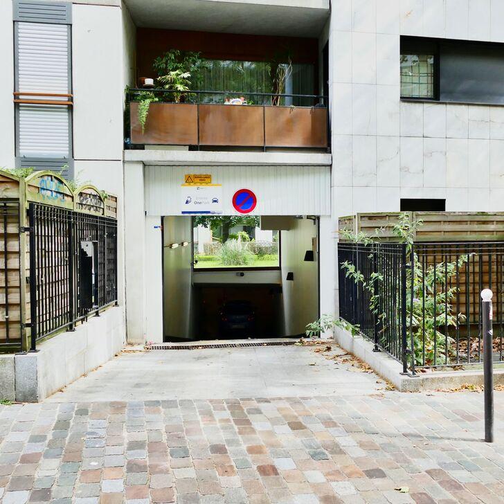 RUE FRANÇOIS TRUFFAUT Parking Privaat Gebouw (Overdekt) Paris