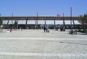 Parkeerplaats Station van Saint-Malo in Saint-Malo : tarieven en abonnementen - Parkeren bij het station | Onepark