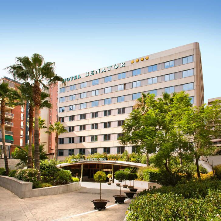 Parking Hotel SENATOR BARCELONA SPA (Cubierto) Barcelona