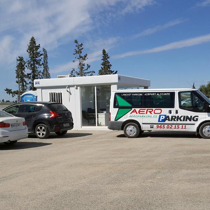AEROPARKING Discount Parking (Exterieur) Alicante