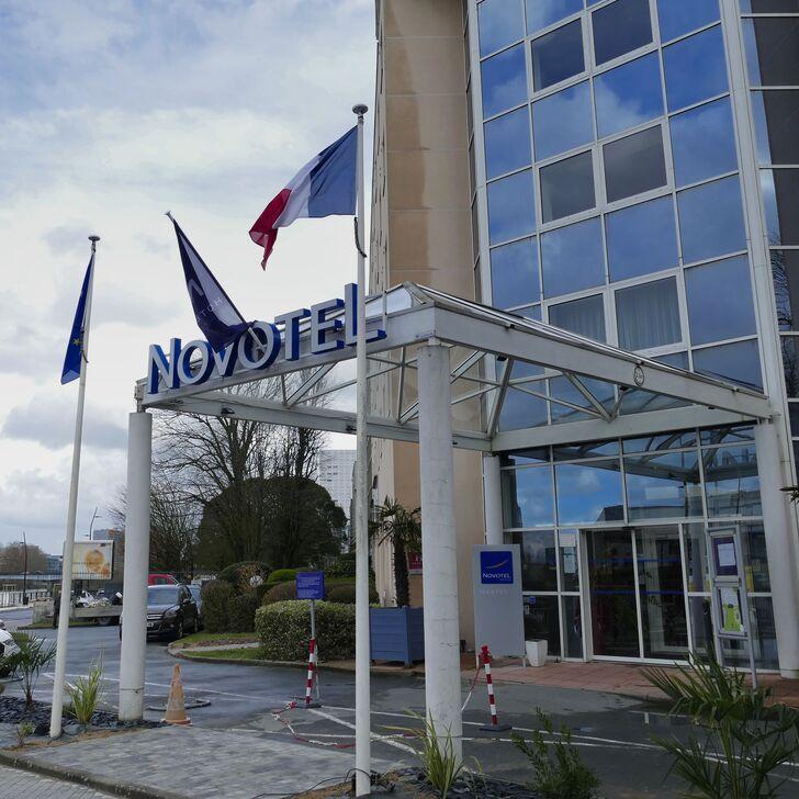 Parking Hotel NOVOTEL NANTES CENTRE BORD DE LOIRE (Cubierto) Nantes