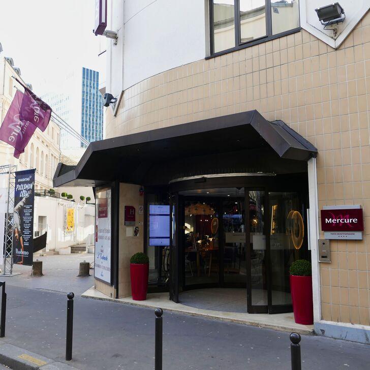 MERCURE PARIS GARE MONTPARNASSE Hotel Parking (Overdekt) Paris