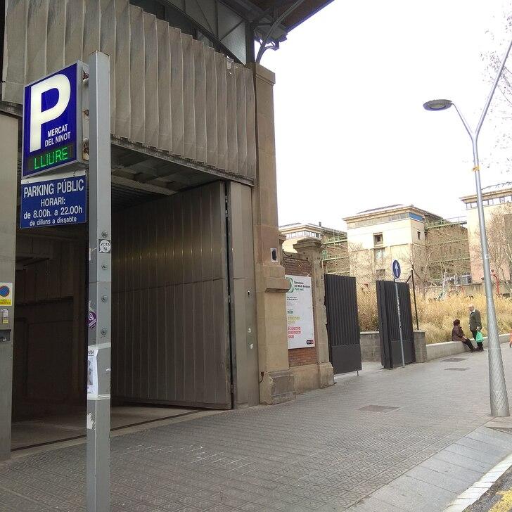 Parking Público MERCAT DEL NINOT (Cubierto) Barcelona